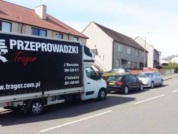 Przeprowadzka Wielka Brytania Warszawa - TRAGER