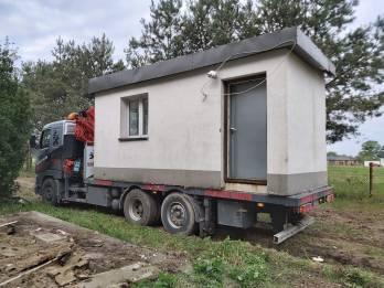 Transport Domku Hds - TRAGER