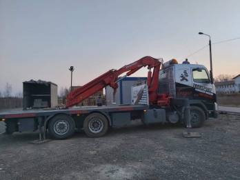 Transport Hds Dzwig Na Pace - TRAGER