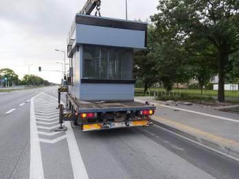 Transport Kiosku Hds Wysuniete Podpory - TRAGER