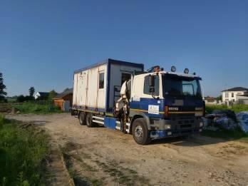 Transport Kontenerow Podnosnik Hds - TRAGER