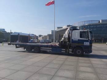 Transport Masztow Hds Plac Pilsudskiego - TRAGER