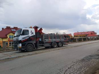 Transport Metalowych Elementow Konstrukcji Hds - TRAGER