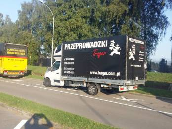 Transport Przeprowadzka Katowice Belgia - TRAGER