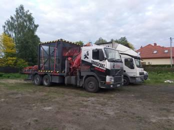 Zabezpieczony Ladunek Transport Hds - TRAGER